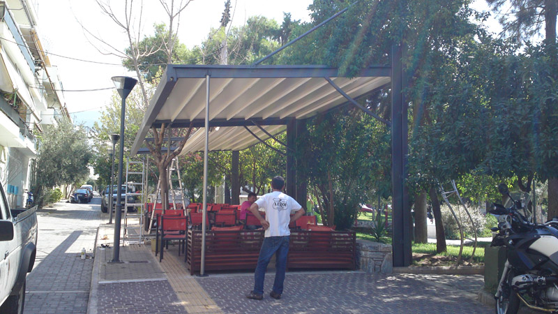 Pergola Canopy Awning Systems Of Cover And Systems Of